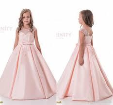 satin junior flower dresses nz buy new satin junior flower