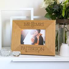 Mirs Rugs Personalised Mr And Mrs Photo Frame By Dust And Things