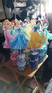 Homemade Table Centerpieces For Parties by Best 25 Princess Party Centerpieces Ideas On Pinterest Princess