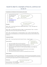 examples of dance resumes how to make a resume bad resume
