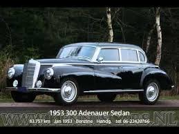 mercedes adenauer mercedes 1953 300 adenauer sedan