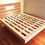 floating bed frame plans best 10 floating platform bed ideas on