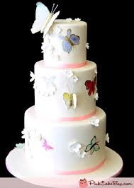 butterfly wedding cake painted butterfly wedding cake wedding cakes