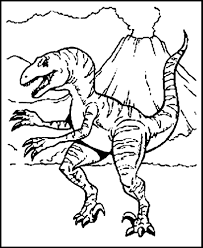 free printable dinosaur coloring pages for kids in dinosaur