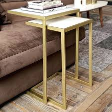 Nesting Coffee Tables Elle Round Marble Nest Coffee Tables Round Marble Nesting Tables