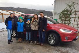 family car big family big adventure driving our first ev across europe tesla