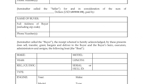 template for bill of sale for boat mickeles spreadsheet sample