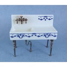 Victorian Kitchen Sinks by Reutter Porcelain Victorian Farm Kitchen Sink On Legs Reutter