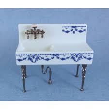 Reutter Porcelain Victorian Farm Kitchen Sink On Legs Reutter - Kitchen sink on legs