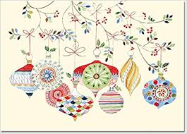 watercolor ornaments small boxed cards cards