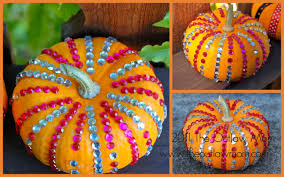 Glitter Home Decor Craft Five Fresh Fall Pumpkin Decorating Ideas The Outlaw Mom