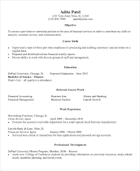 entry level resume exles entry level resume exles 10 exle for finance