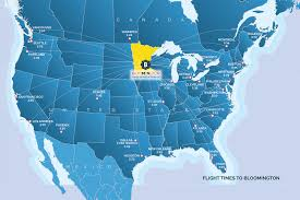 Mall Of America Store Map by Bloomington Mn Travel International Travel To Bloomington