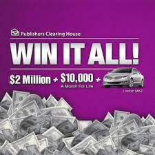 pch win it all with publishers clearing house dream life prize