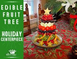 edible fruit centerpieces the s table party edible fruit christmas tree