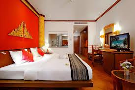 chambre thailandaise kata palm resort spa résidences de tourisme kata