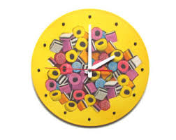 Modern Clocks For Kitchen by Modern Wall Clock Etsy