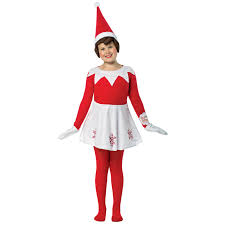 buy girls elf on the shelf dress costume