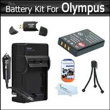olympus vr 340 battery battery and charger kit for olympus vr 340 sz 12 xz 1 sz 10 sz 20
