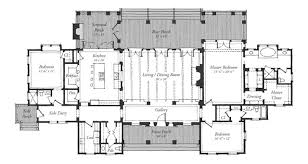 floor plans southern living classic revival house southern living house plans