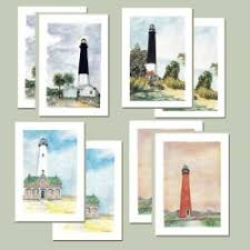 boxed note cards lighthouse trails