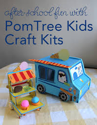 kid craft kits easy after school with pomtree kids craft kits sponsored