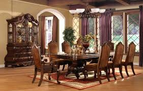 Large Formal Dining Room Tables Formal Dining Room Table For 10 High End Sets Engaging Ideas