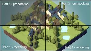 tutorial blender terrain tutorial your first lowpoly scene blendernation