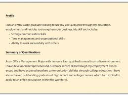 Resume Profile Sample Resume Profile Example Cv Resume Ideas