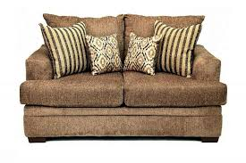 Chenille Sofa And Loveseat Cornell Pewter Chenille 3 Cushion Sofa Ffo Home