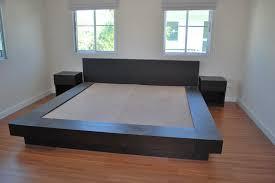 bed designs plans build a platform bed frame with storage woodworking blog platform
