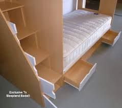 Plans For Bunk Beds With Storage Stairs by 20 Best Double Decker Bed Images On Pinterest 3 4 Beds Bedroom