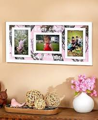 mossy oak pink collage photo picture wall art wood frame camo