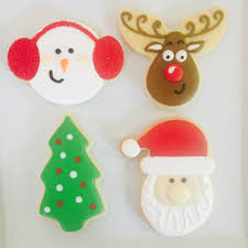 18th november decorating class christmas royal icing cookies