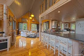 tips to design the ultimate log home kitchen timber block