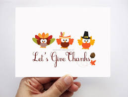 different ideas for thanksgiving cards cards