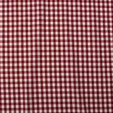 Red Plaid Upholstery Fabric Classic Heavy Woven Cotton Gingham Upholstery Kitchen Cushion