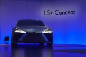 purple lexus lexus ls is a concept of the 2020 ls facelift with autonomous tech