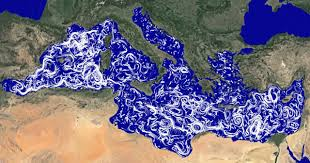 Map Of Mediterranean Sea Mediterranean Sea Currents Youtube