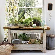 indoor plant table with farmhouse rustic table decorating your