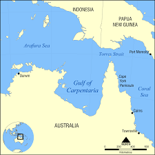 Gulf Stream Map Gulf Of Carpentaria Wikipedia