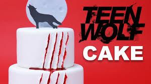 teen wolf cake nerdy nummies youtube