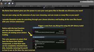 light o rama software for mac rama save system by rama in code plugins ue4 marketplace