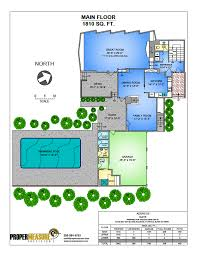 vibrant full colour floor plans proper measure