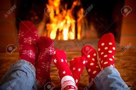 holiday fireplace binhminh decoration