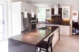 complete kitchen and living area renovation fine homebuilding
