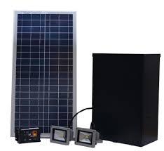 diy solar flood light custom diy billboard lights solar powered outdoor lighting dual 5