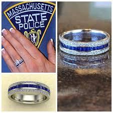 thin blue line wedding band vibrant wedding rings tasty best 25 ring ideas on
