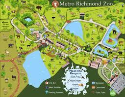 Map Of Richmond Va Park Map Metro Richmond Zoo