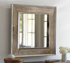 Pottery Barn Mirrors Bathroom by Anderson Mirror Pottery Barn